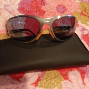 Fila Mens Blue Lens Metal Frame Shield Sunglasse Flash Lens MOD SF 8033E COL 581