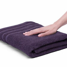 Black Plum Absorbency and Quality 100% Egyptian Cotton Dry Fast Bath Towel