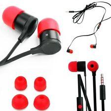 Auriculares rojo no aplicable para teléfonos móviles y PDAs