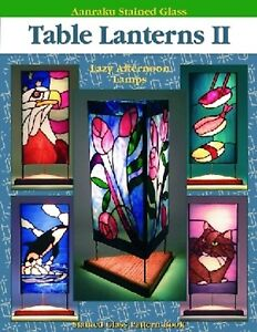 Stained Glass Pattern Book - TABLE LANTERNS-VOL. 2