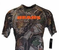 Chicago Bears Camo Pattern NFL Majestic Coolbase Camo T-Shirt, Men's S, M, nwt