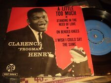 CLARENCE FROGMAN HENRY - A LITTLE TOO MUCH - SWEDISH EP
