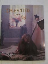 Stevie Nicks Enchanted calendar 1998 tourbook concert tour - Very good condition