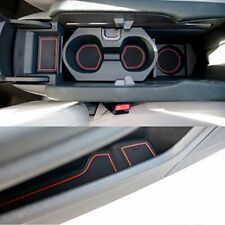 Custom Fit Cup Holder and Door Compartment Liner Accessories for Honda Civic