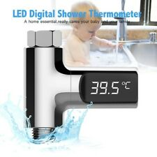 Shower Thermometer LED Display Home Water Temperature Meter Monitor  Baby Care