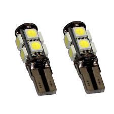 2x STÜCK LED Standlicht T10 9 Power SMD Xenon Weiss für Scheinwerfer 24 Volt