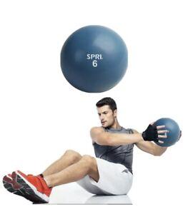 SPRI 6 LB Soft Toning Ball Hand Held Medicine Ball for Exercise Women Men Fit...