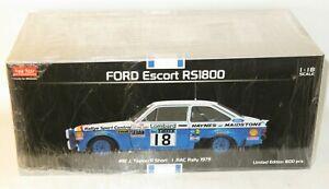 1/18 Ford Escort Mk.2 RS1800  Lombard RAC Rally 1979 J.Taylor / P.Short