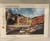 Clementoni Cinque Terre Italia 31902 1500 Piece Jigsaw Puzzle Lockdown Fun Italy