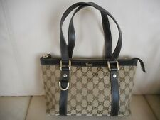 AUTHENTIC GUCCI SIGNATURE ABBEY D-RING SMALL SATCHEL