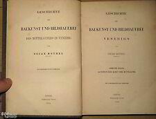 Mothes Geschichte der Baukunst und Bildhauerei des Mittelalter in Venedig 1860