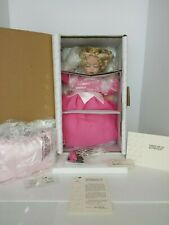 COA #761 NEW NRFB MARIE OSMOND BABY SLEEPING BEAUTY DISNEY PORCELAIN DOLL MINT