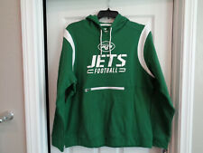 *NEW* Fanatics New York Jets Pullover Hoodie Green, Mens Size XL