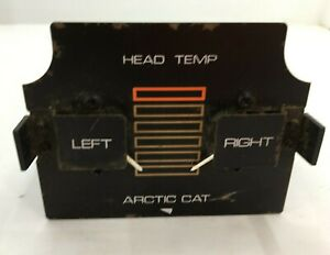 VINTAGE ARCTIC CAT SNOWMOBILE TEMP HEAD 0136-198 NEW OLD STOCK