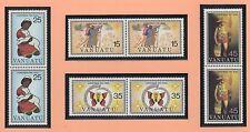 VANUATU 8 timbres neufs Noël 1981 et 1 feuillet de 4 timbres neufs /T348