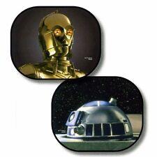 2pcs Star Wars Sunshade C-3PO & R2-D2 Set Auto Car Windshield Visor window shade