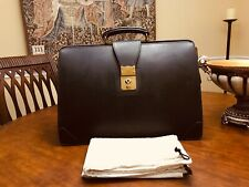 SWAINE ADENEY Bridle Leather Attorney / Doctor Briefcase - Made In England