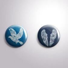 2 COLDPLAY -  Pinbacks Badge Button 25mm 1'' .