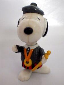 Personaggio Vintage Snoopy Articolato 1999 Mc Donald's 9 CM