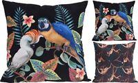 Animal Print Velvet Fabric Cushion Bed Pillow ~ Sofa Scatter Cushion