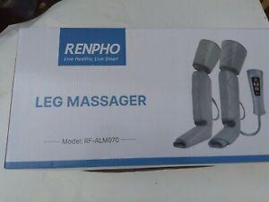 Renpho Leg Massager, Compression Thigh Calf Foot Massage Machine, Adjustable ...
