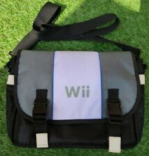 Official Nintendo Wii Padded Console Carry Case Travel Shoulder Bag (Box A)
