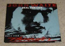 """John Waite Deal For Life 7"""" Single - VVG"""
