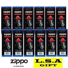 Zippo Lighter Flint Replacement Pack of 12 Value Packs (72 X Flints)