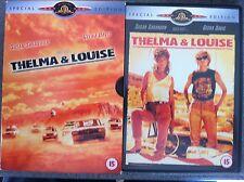 Susan Sarandon Geena Davis THELMA & LOUISE | 1991 | Ltd Ed DVD w/ Slipcover