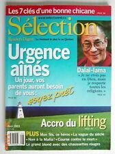 SÉLECTION DU READER'S DIGEST DE AOÛT 2003, EN COUVERTURE DALAI-LAMA