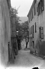 1910s HEIDELBERG #3 Antique Photographic Glass Negative (Germany)