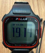 Rc3 GPS polar rcx3 GPS * negro * con soporte de bicicleta impecable, como nuevo!