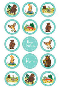 Gruffalo Cupcake Toppers | Edible Print | Icing / Wafer Paper
