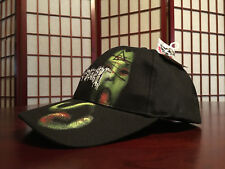 Cradle of Filth Graphic Embroidered Fitted Collage Cap Headgear Hat by Hot Topic