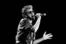 GEORGE MICHEAL POP ICON 80S FINE ART CANVAS A1 RETRO 20X30 WALL NEW MODERN WHAM