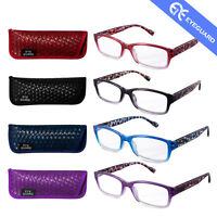 Reading Glasses Fashion Design Colorful Spring Hinge Readers Women Style 4 Paris