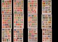 Large Stamp Collection Island Norway Sweden Denmark Finland & United States