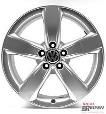 4 VW Golf 5 1k V 18 pollici Cerchi in lega originali Audi Cerchi OEM Argento S