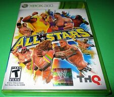 WWE All Stars Microsoft Xbox 360 *Factory Sealed! *Free Shipping!