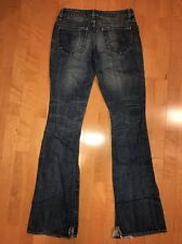 GUC! Paper Denim & Cloth Tag Size 26 New 2 Year Distressed Flare Jeans 29x32