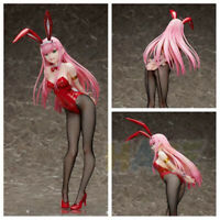 DARLING in the FRANXX Zero Two 02 Bunny Girl 1/4 Figure Statue PVC Toy 43cm New