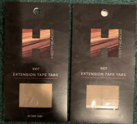 (2) Hotheads hair extensions X107 Extension Tape Tags Ships Free $30 Each