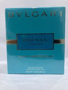 Bvlgari Omnia Paraiba Eau de Toilette EDT Spray For Women - New Sealed in Box!