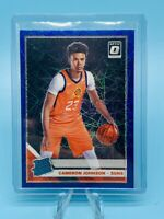 CAMERON JOHNSON 2019-20 DONRUSS OPTIC RATED ROOKIE BLUE VELOCITY PRIZM #200📈📈