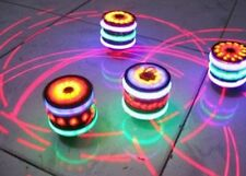 Spinning Tops Kids Toy Spinner Multi-Color Flash Light  Gyro With Music Laser XS