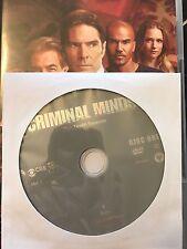 Criminal Minds - Season 10, Disc 1 REPLACEMENT DISC (not full season)