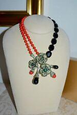 "NWT $330 Heidi Daus ""Blossom du Jour"" Crystal Drop Necklace"