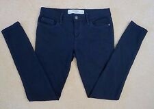 NEW Abercrombie Womens Jeggings Size 2 Navy Blue Jeans Soft Stretchy Pants