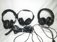 Headset Lot Gaming Headsets Turtle Beach Razer Untested (CL)