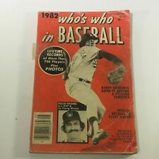VTG Who's Who In Baseball Magazine 1982 - Rollie Fingers / Cy Young / Newsstand